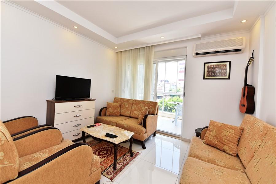 Меблированная квартира 2+1 у пляжа Клеопатры в Аланье - Фото 4