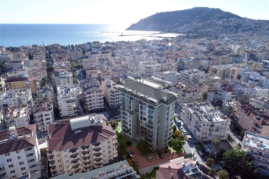 Новые квартиры в центре города Алания - Фото 1