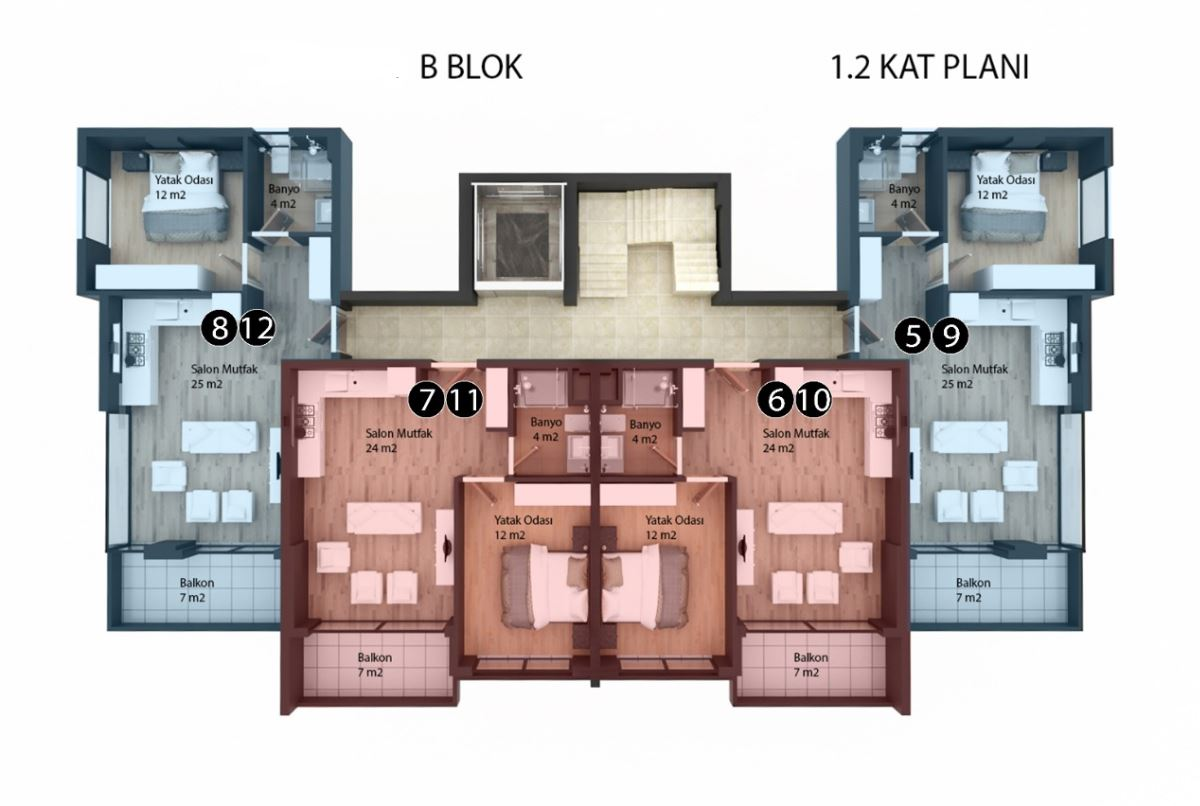 Новые квартиры в районе Кестель - Фото 27