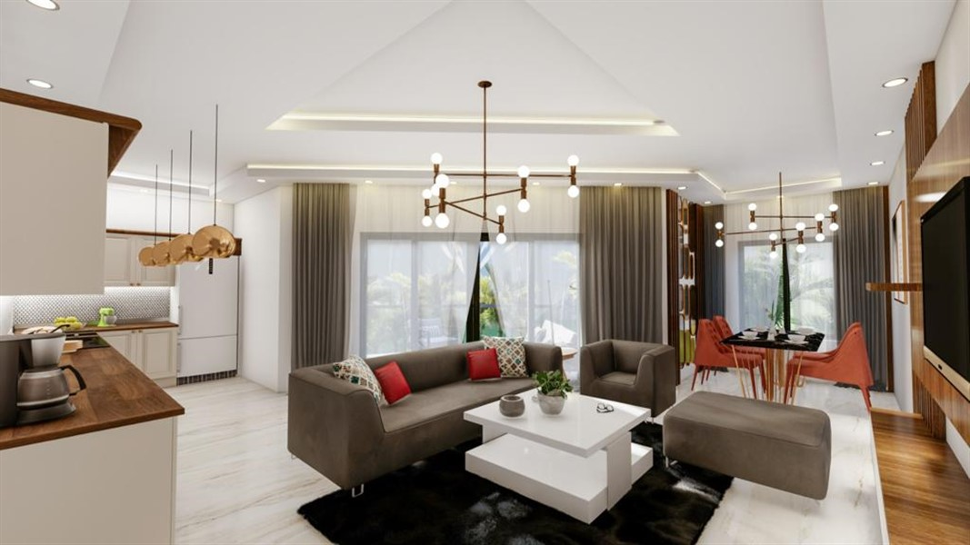 Роскошные видовые квартиры в Махмутларе - Фото 23
