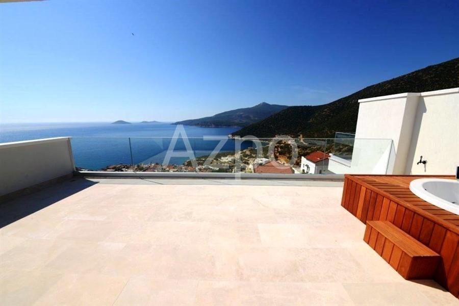 Пентхаусы 2+1 с панорамным видом на Средиземное море - Фото 6
