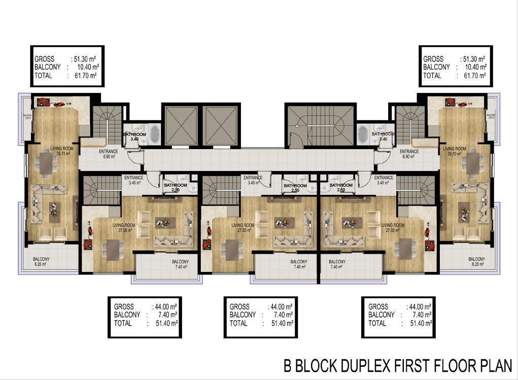 Квартиры в строящемся элитном комплексе в районе Каргыджак - Фото 30