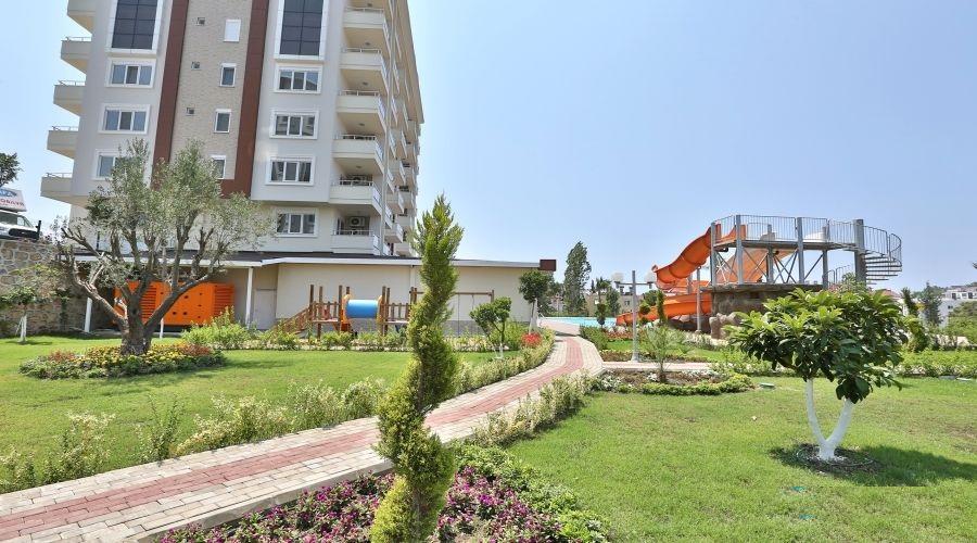 Меблированная квартира 1+1 в посёлке Авсаллар - Фото 3