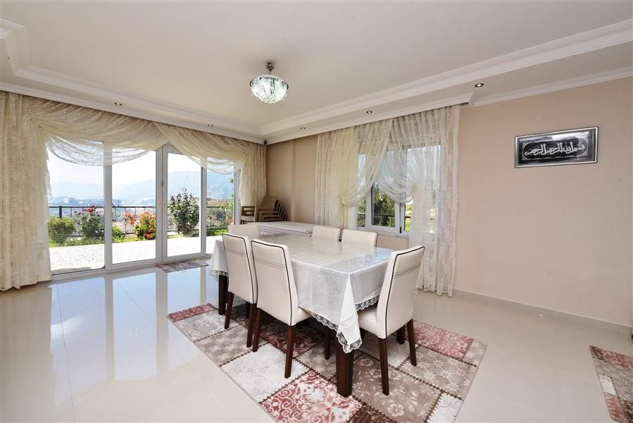 Двухуровневая вилла 3+1 с мебелью в районе Каргыджак - Фото 13