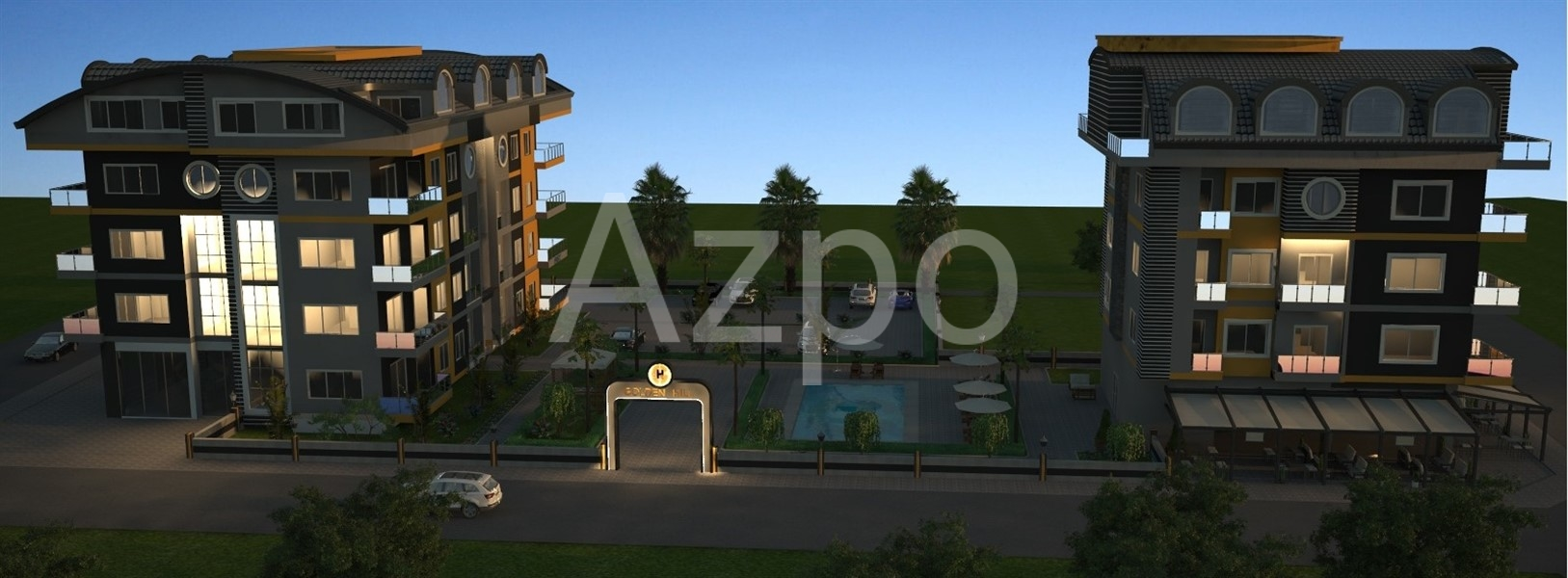 Строительство резиденции в районе Оба - Фото 9