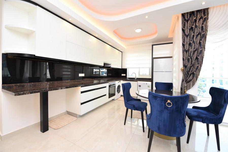 Трёхкомнатная квартира с мебелью в районе Махмутлар - Фото 14