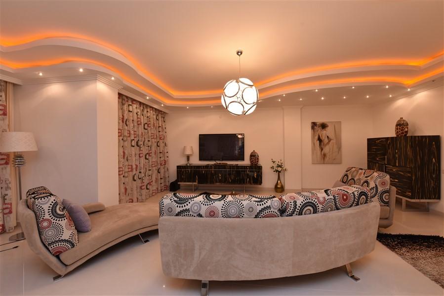 Двухуровневый пентхаус 4+1 с мебелью в центре Аланьи - Фото 28