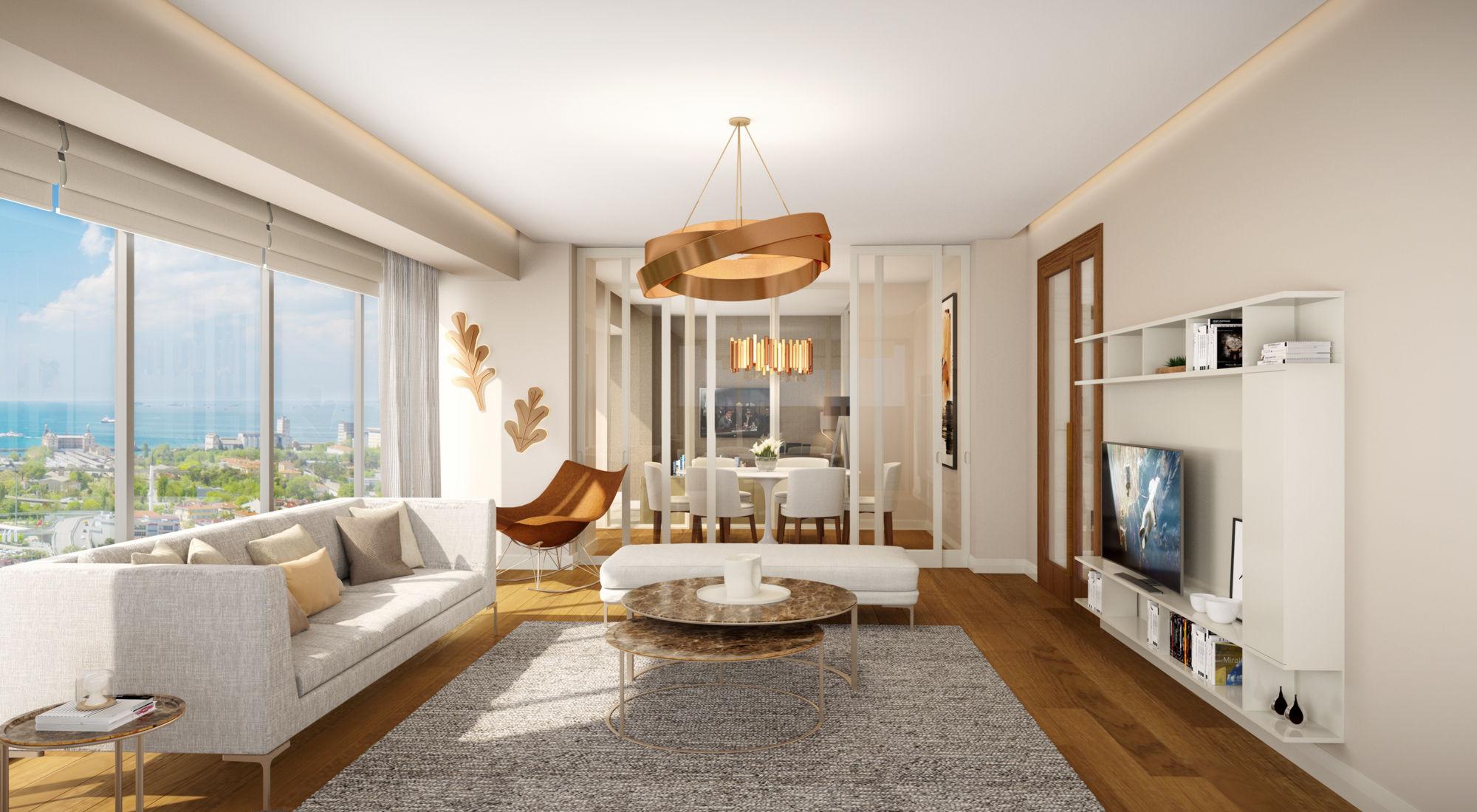 «Умные» квартиры в новом жилом комплексе Стамбула - Фото 32