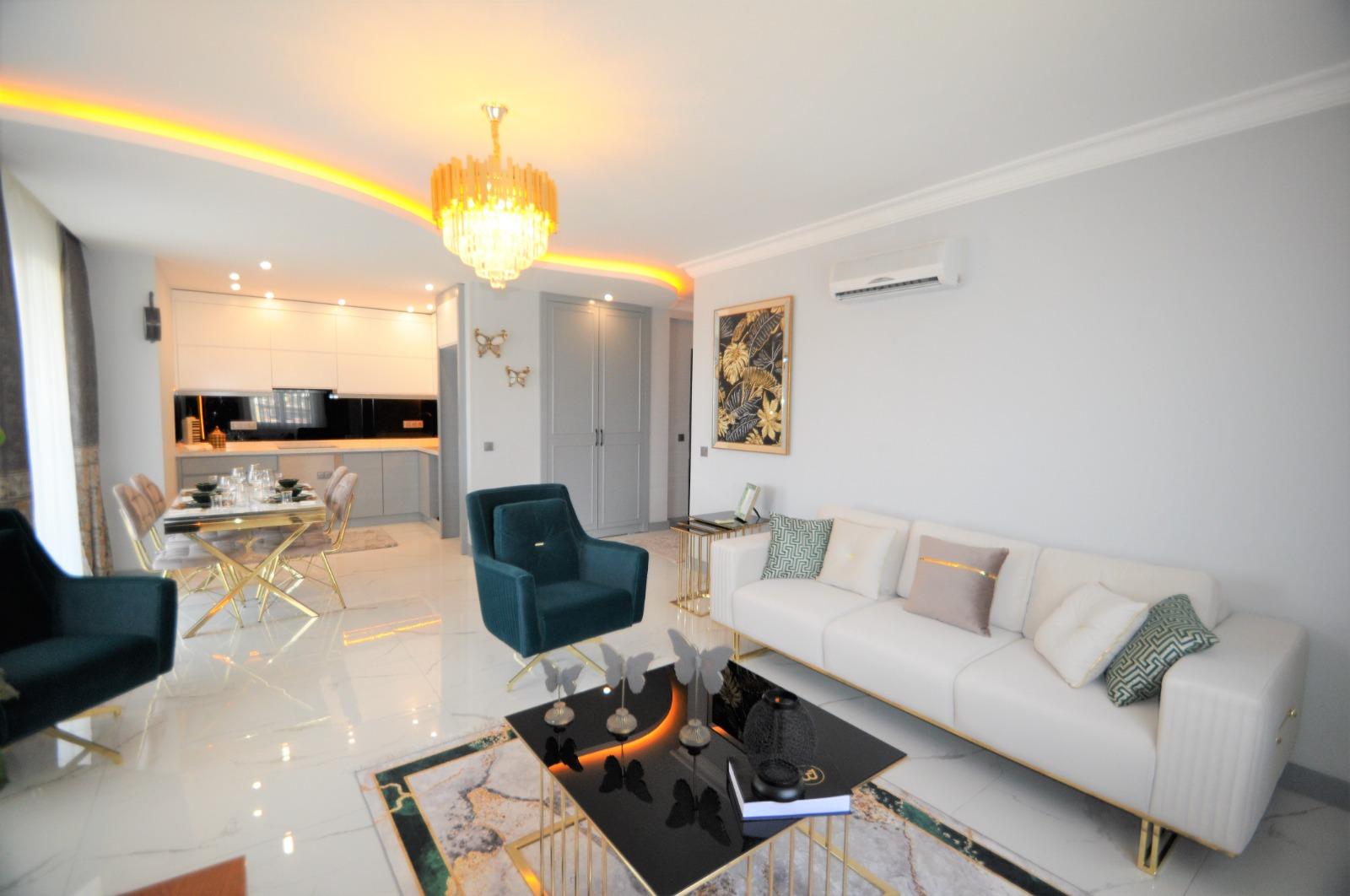 Просторная трёхкомнатная квартира с мебелью в Тосмуре - Фото 16
