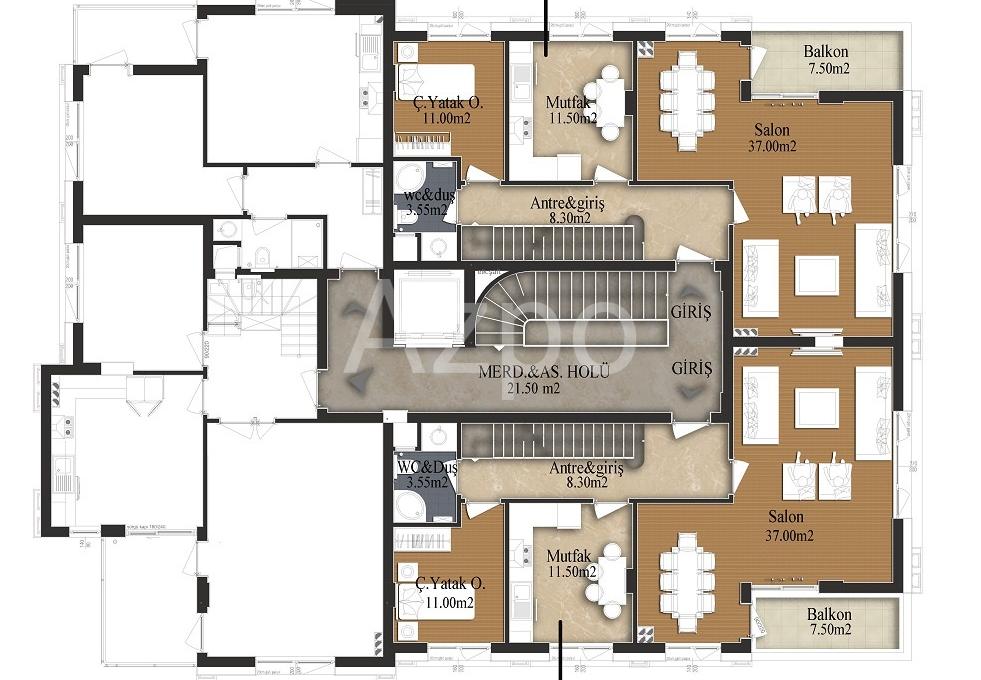 Квартиры разных планировок от застройщика - Фото 19