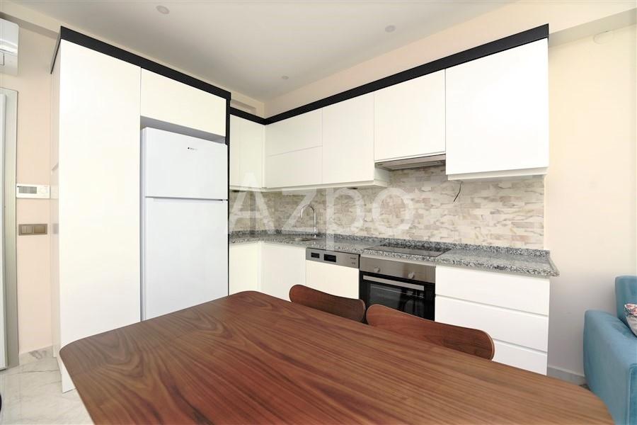 Меблированная квартира 1+1 в центре Алании - Фото 17
