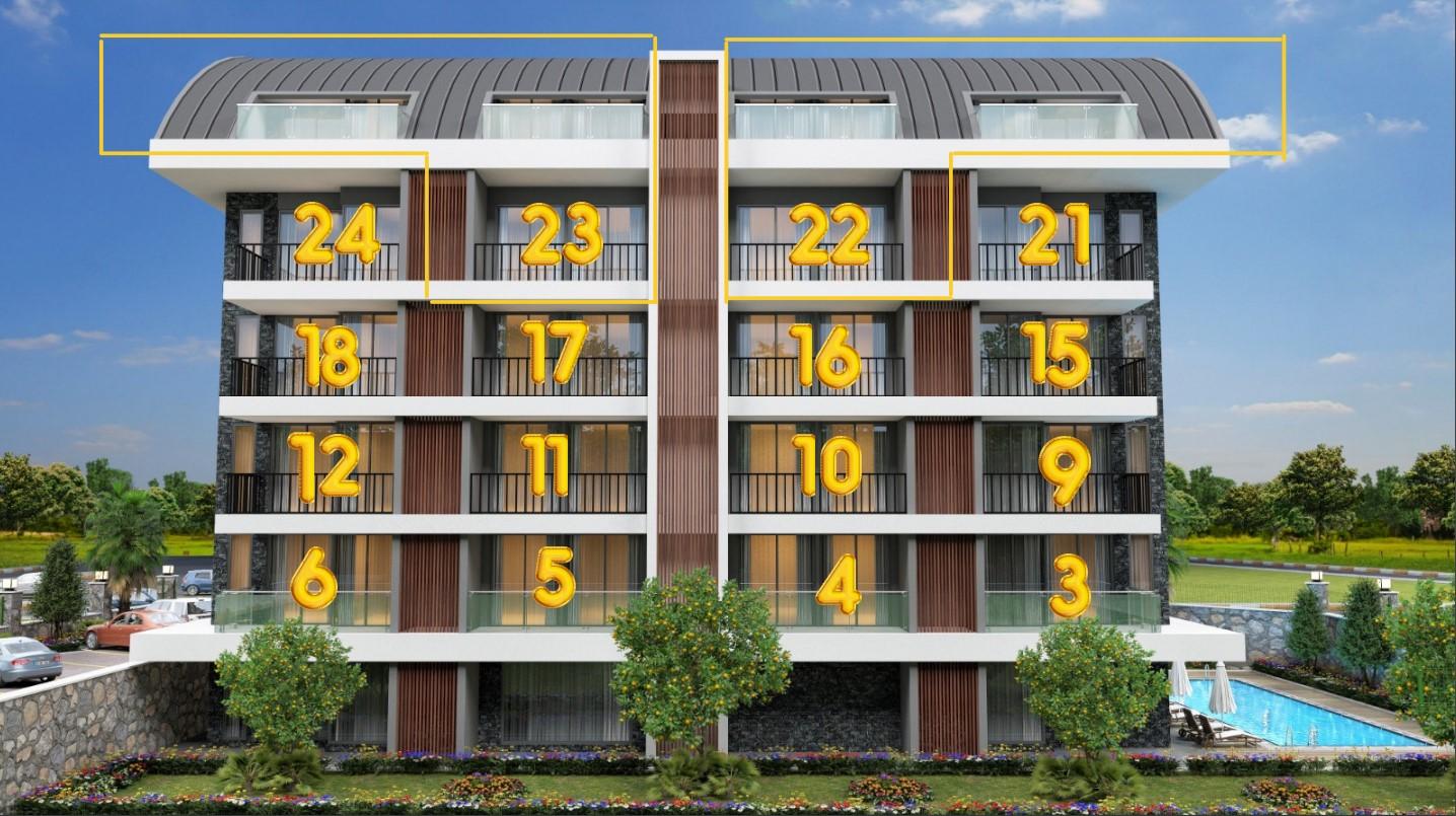 Квартиры в комплексе класса LUX район Оба - Фото 7