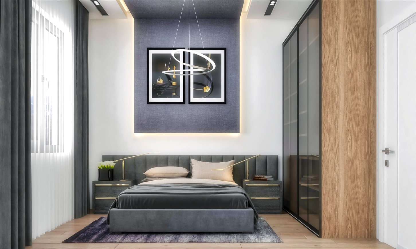 Современные квартиры в элитном комплексе Антальи - Фото 37