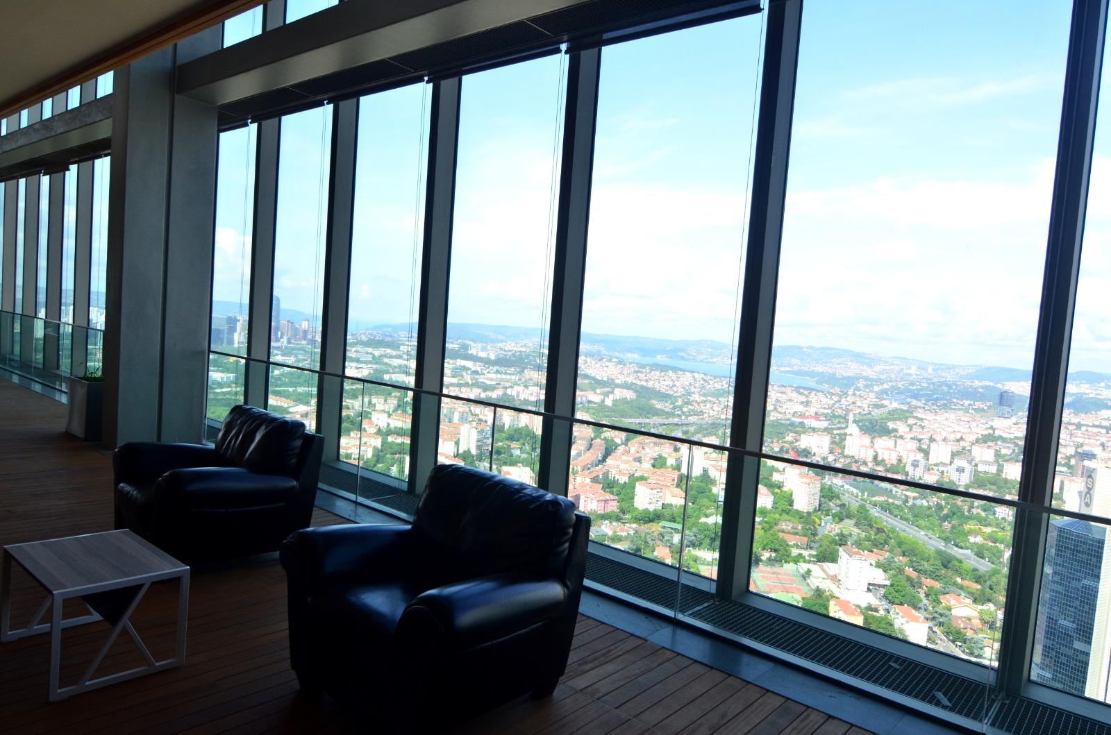 Элитная квартира в  высоком небоскребе Стамбула - Фото 26