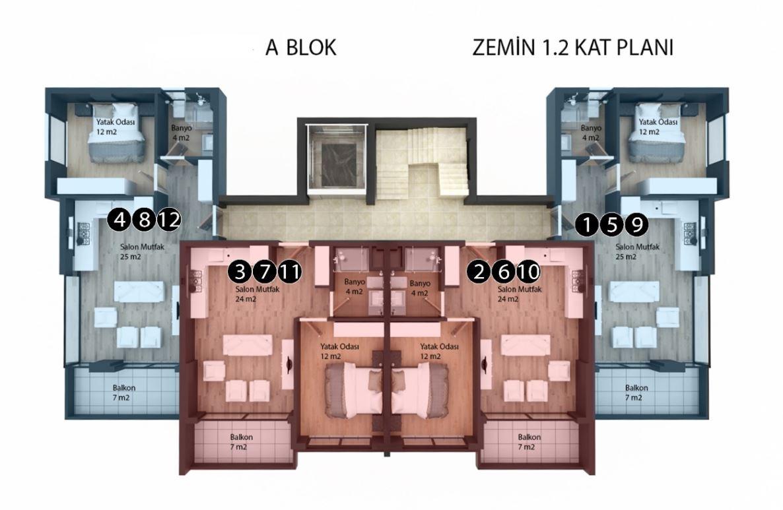 Новые квартиры в районе Кестель - Фото 24