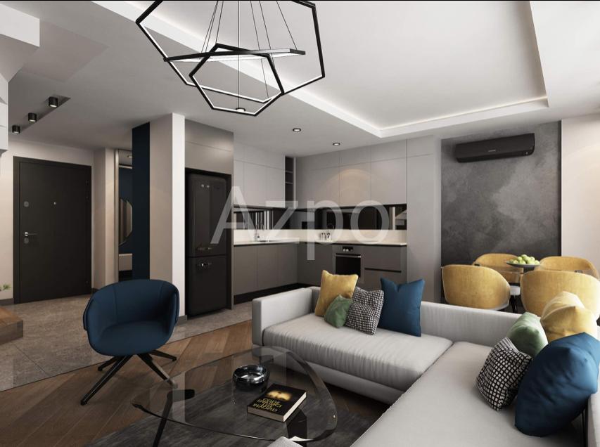 Квартиры 1+1 в инвестиционном проекте в Гюзельоба Лара - Фото 10