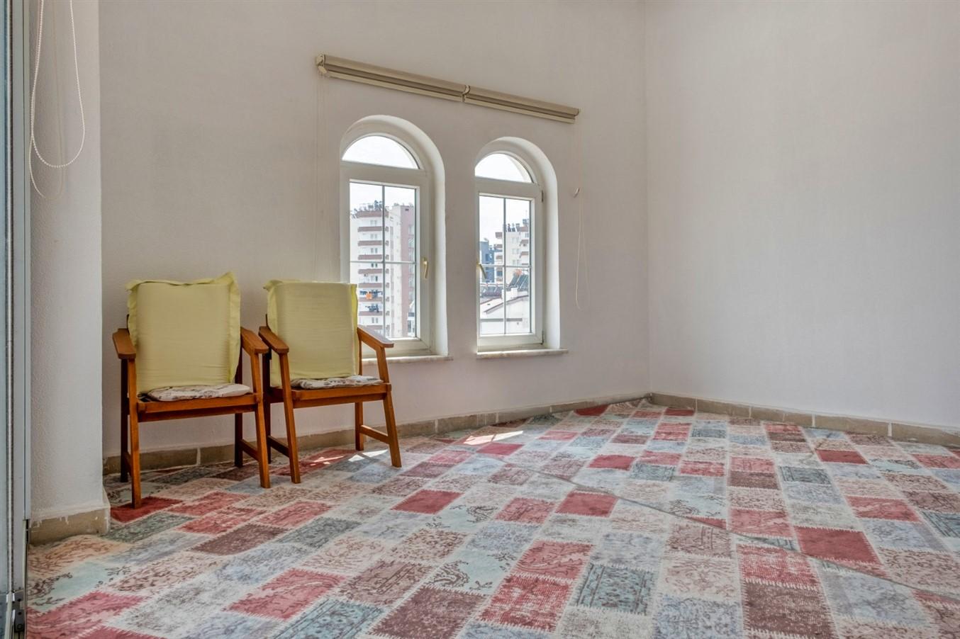 Двухуровневая квартира 5+1 в районе Коньяалты - Фото 23