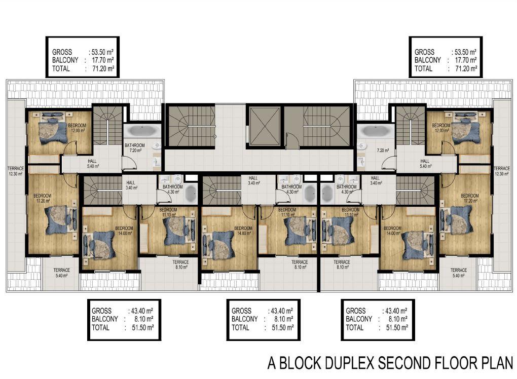 Квартиры в строящемся элитном комплексе в районе Каргыджак - Фото 28