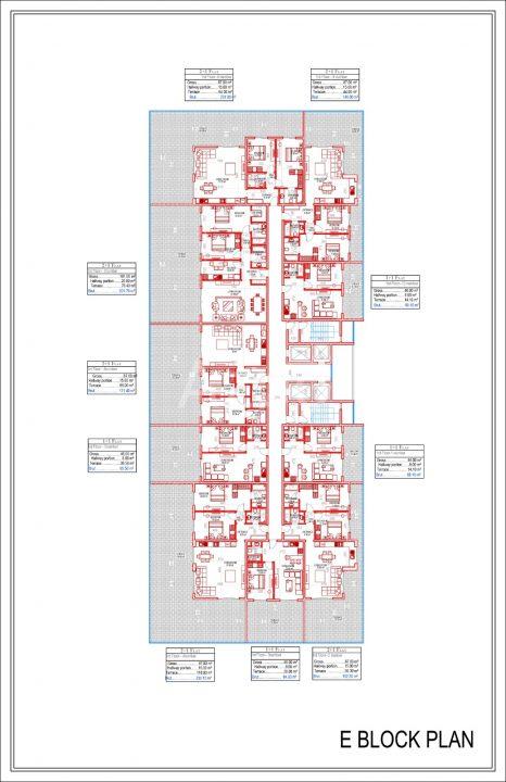 Квартиры всех типов планировок в Махмутларе - Фото 20