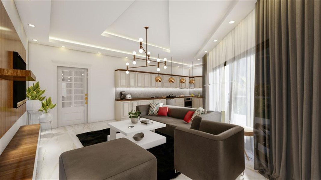 Роскошные видовые квартиры в Махмутларе - Фото 19