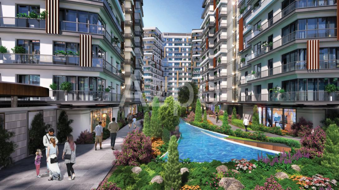 Квартиры в новом готовом комплексе в Стамбуле - Фото 11