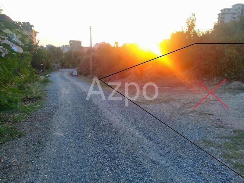 Земельный участок площадью 737 м2  Махмутлар