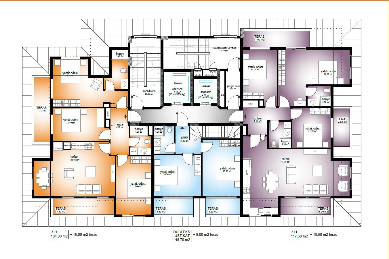 Новые квартиры по ценам застройщика в 250 метрах от пляжа Средиземного моря - Фото 19