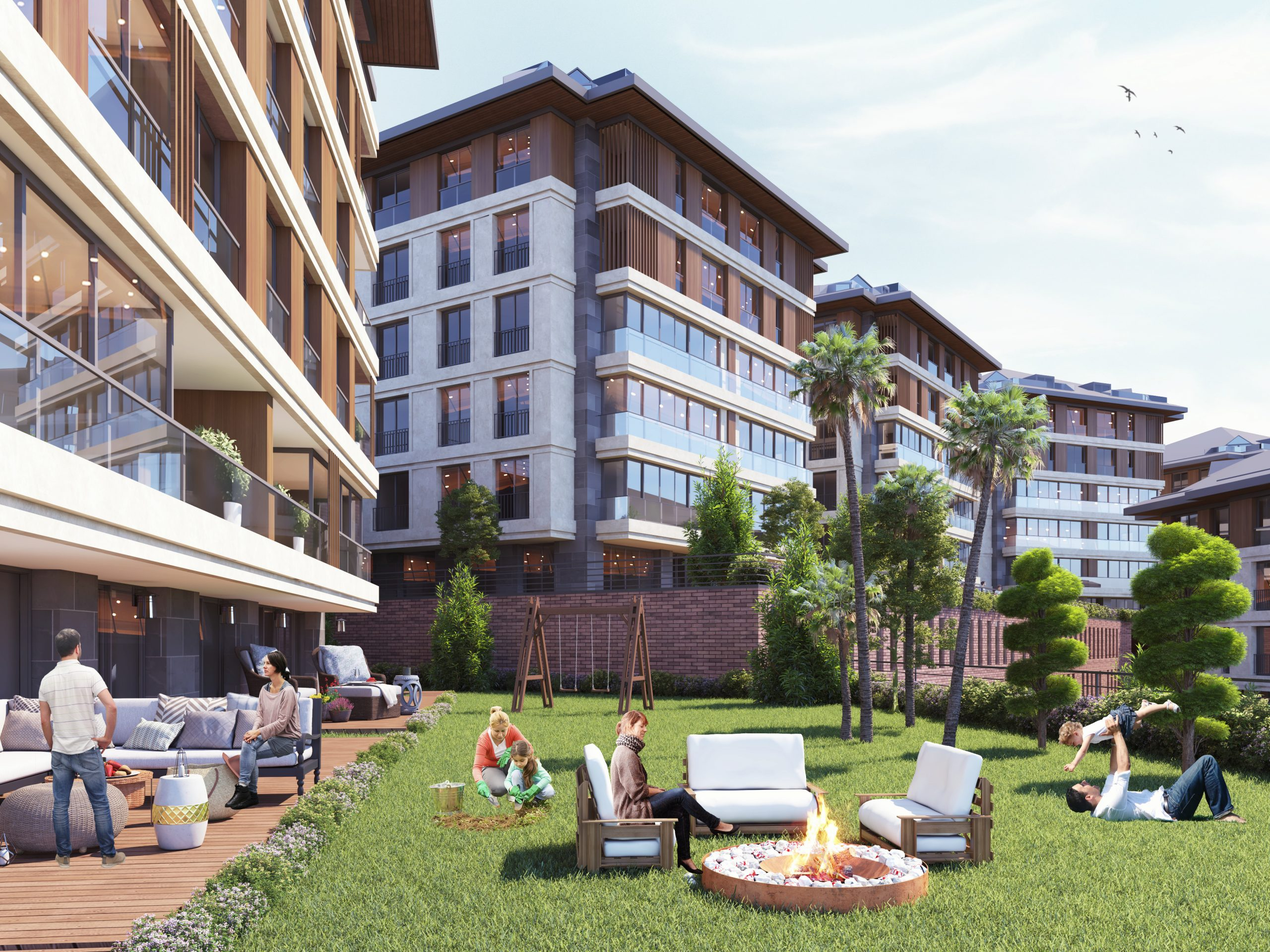 Просторные квартиры в инвестиционном проекте в районе Ускюдар Стамбул