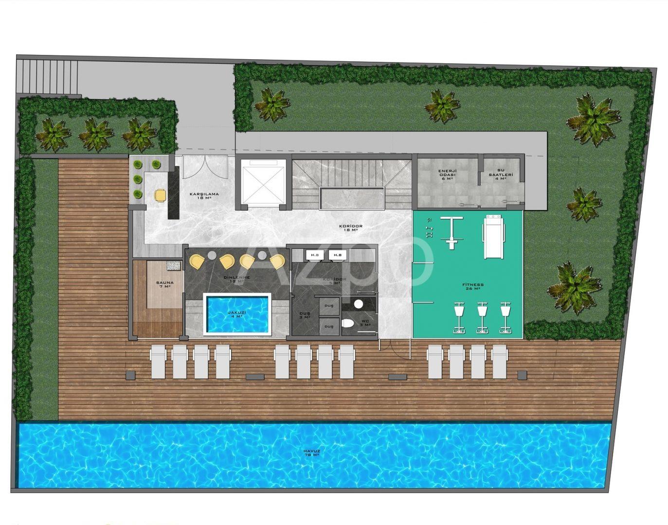 Новый жилой комплекс в центре Алании - Фото 18
