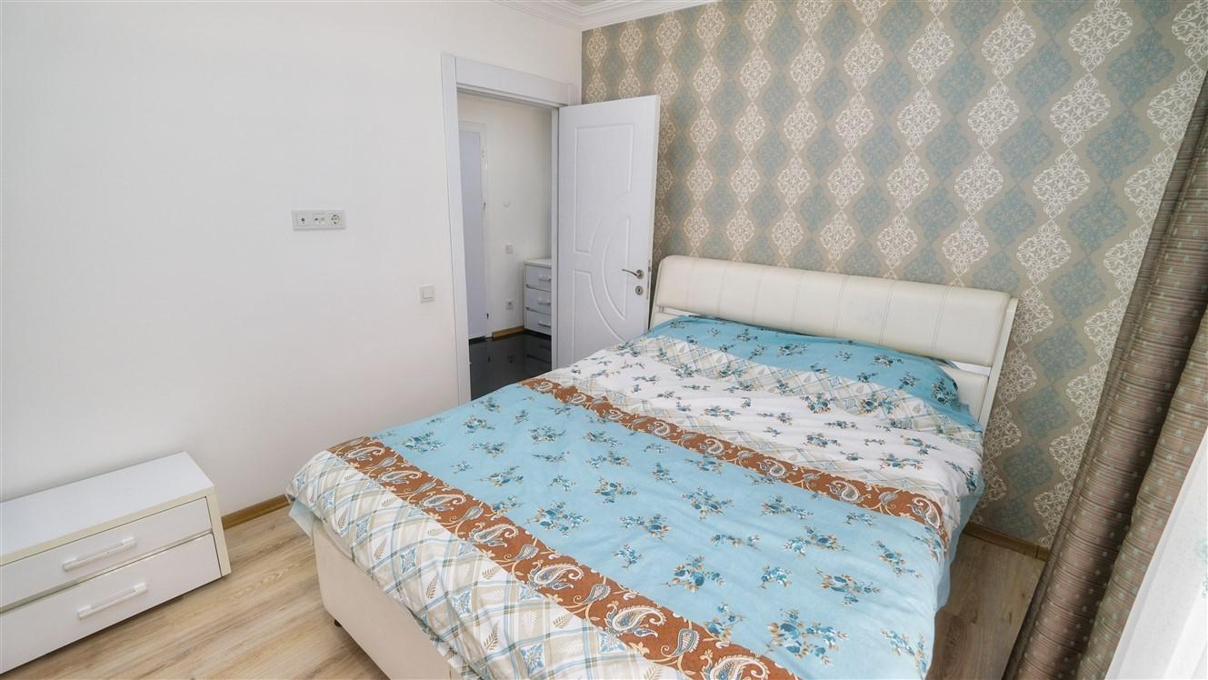 Двухкомнатная квартира с мебелью в элитном комплексе района Коньяалты - Фото 38