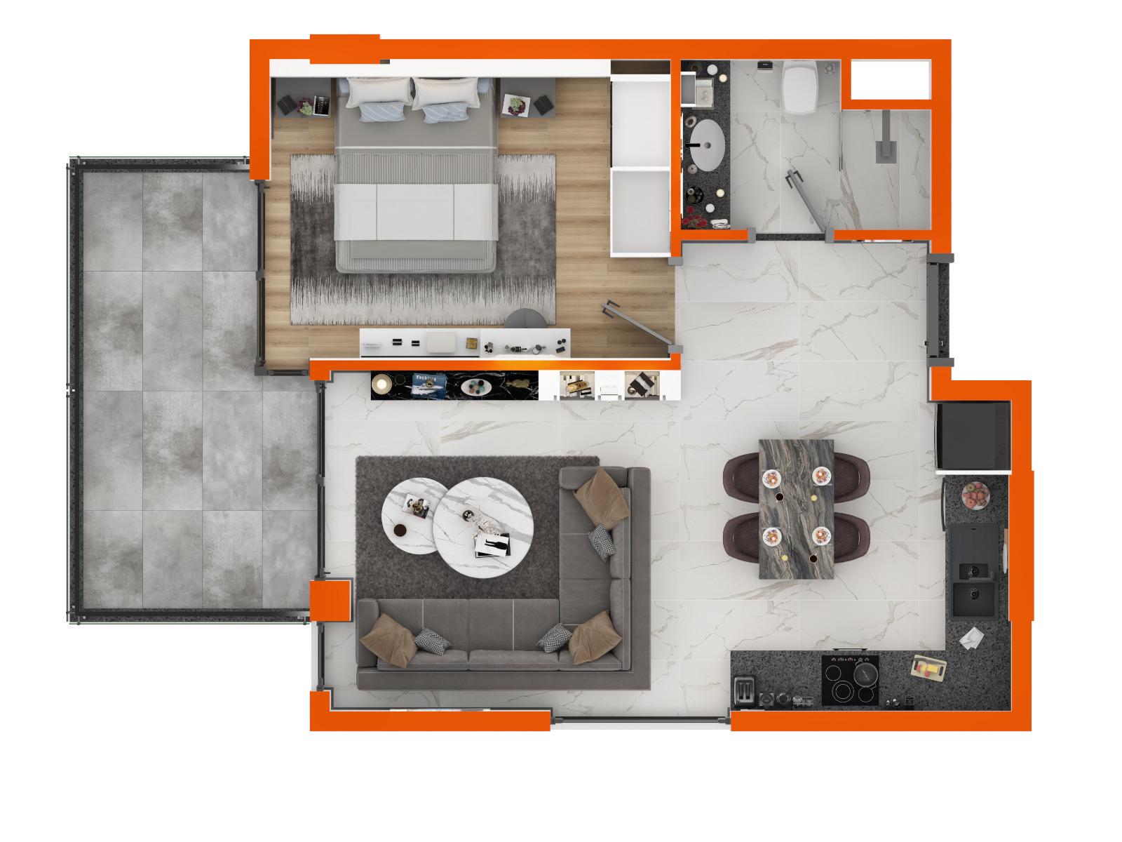 Квартиры в комплексе класса LUX район Оба - Фото 39