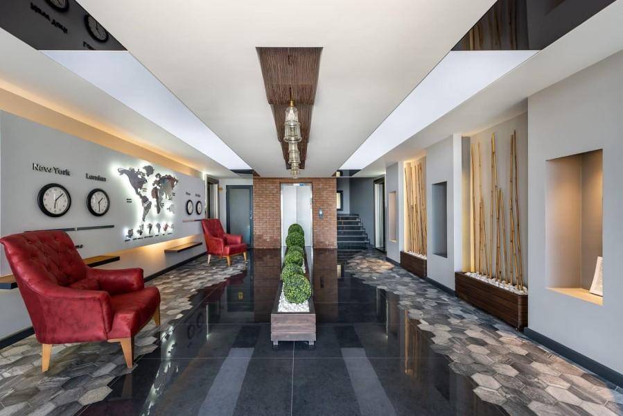 Видовая квартира 1+1 с мебелью в роскошном жилом комплексе - Фото 16