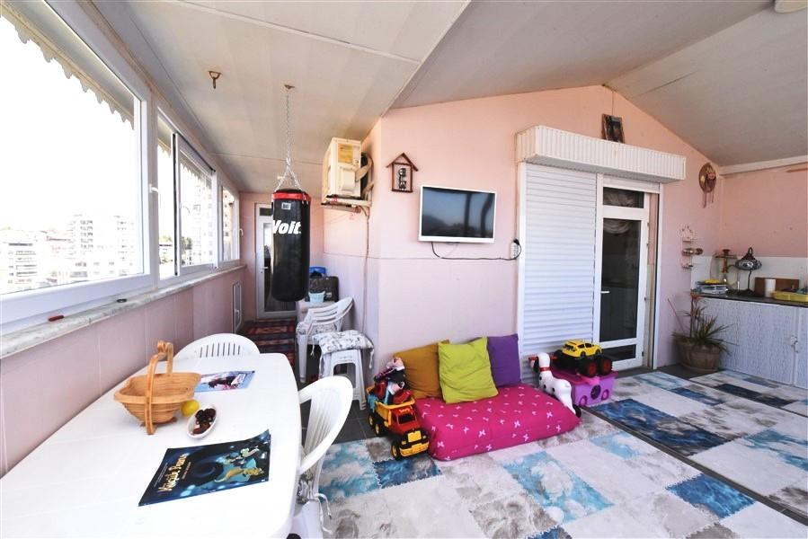 Просторный пентхаус 3+1 с мебелью в Джикджилли - Фото 55