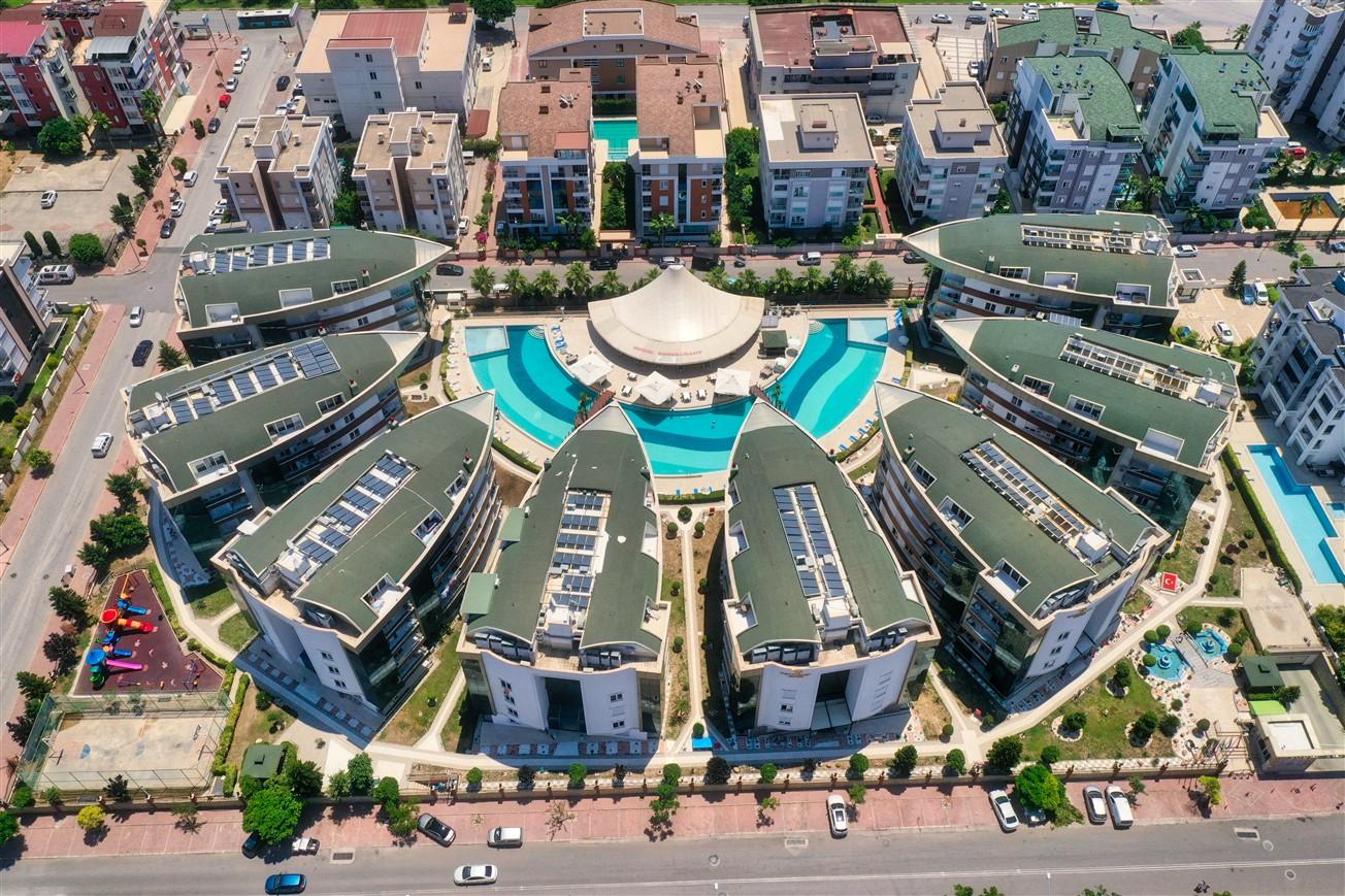 Двухкомнатная квартира с мебелью в элитном комплексе района Коньяалты - Фото 10