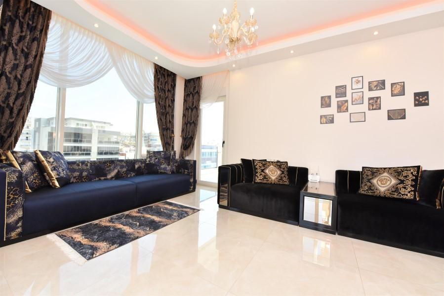Трёхкомнатная квартира с мебелью в районе Махмутлар - Фото 18