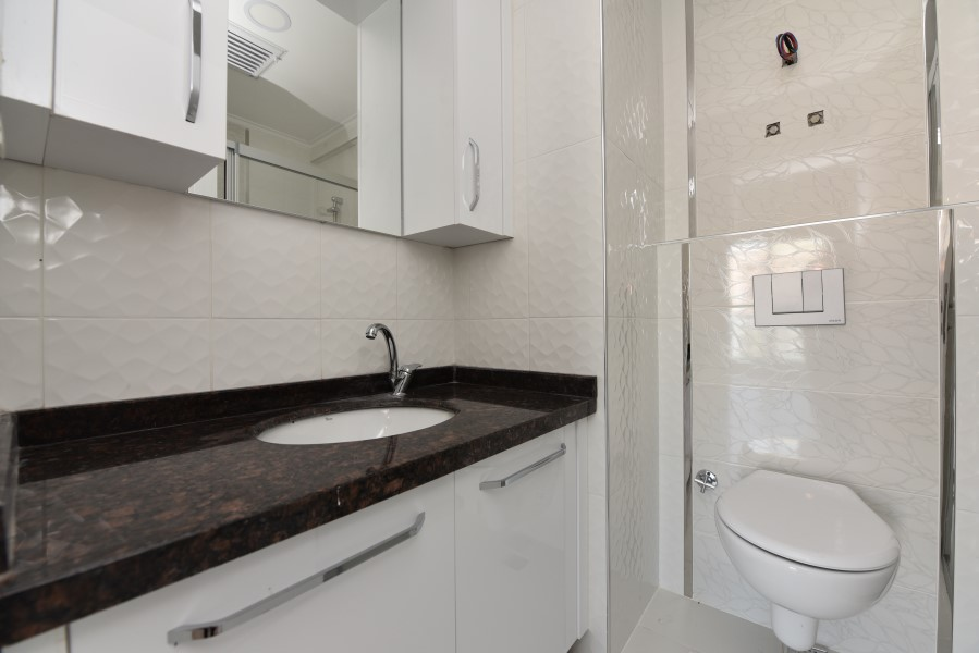 Новая трёхкомнатная квартира в районе Махмутлар - Фото 17