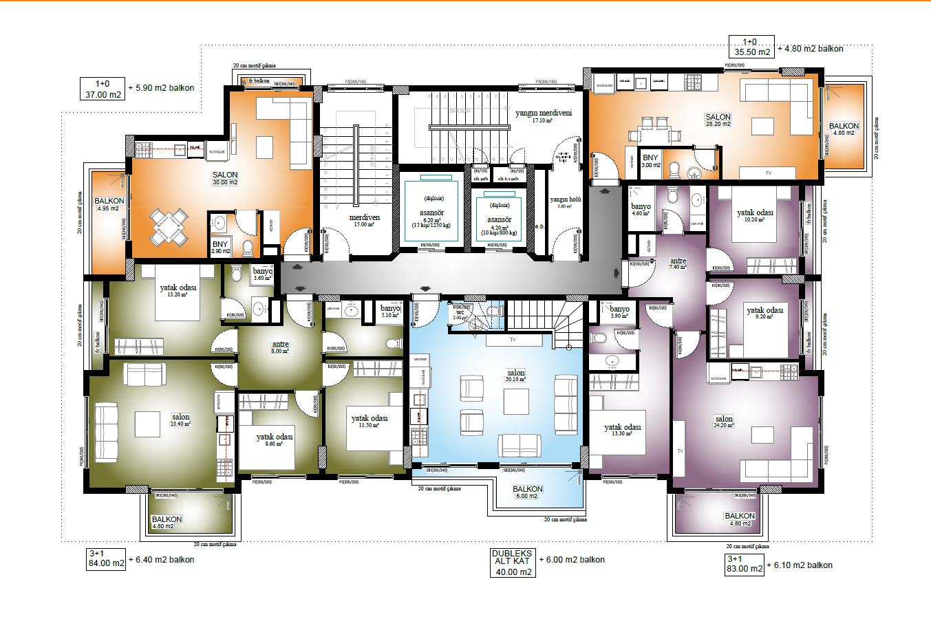 Новые квартиры по ценам застройщика в 250 метрах от пляжа Средиземного моря - Фото 15