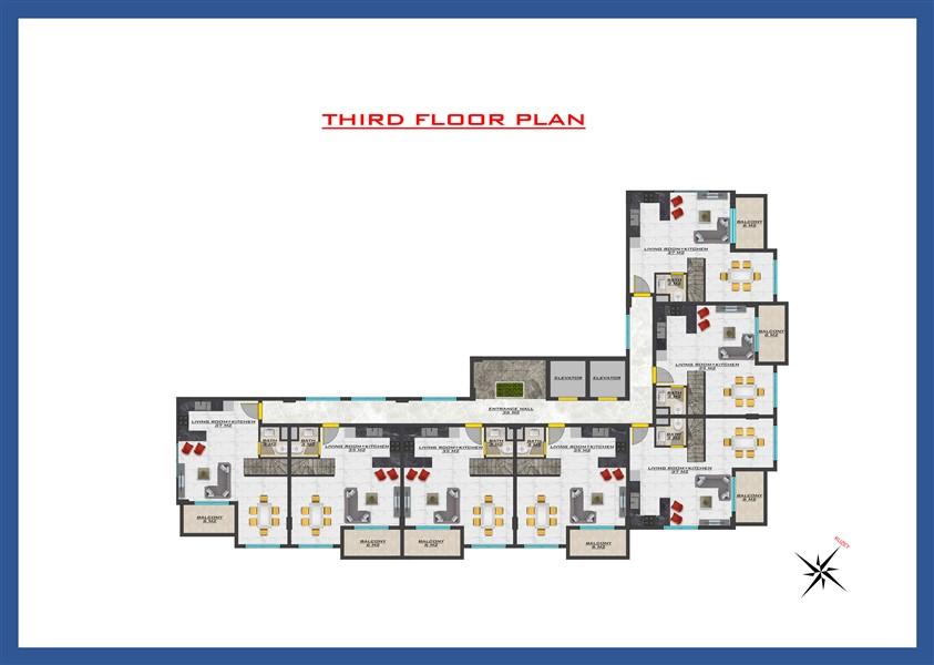 Новый проект жилого комплекса в районе Оба - Фото 33
