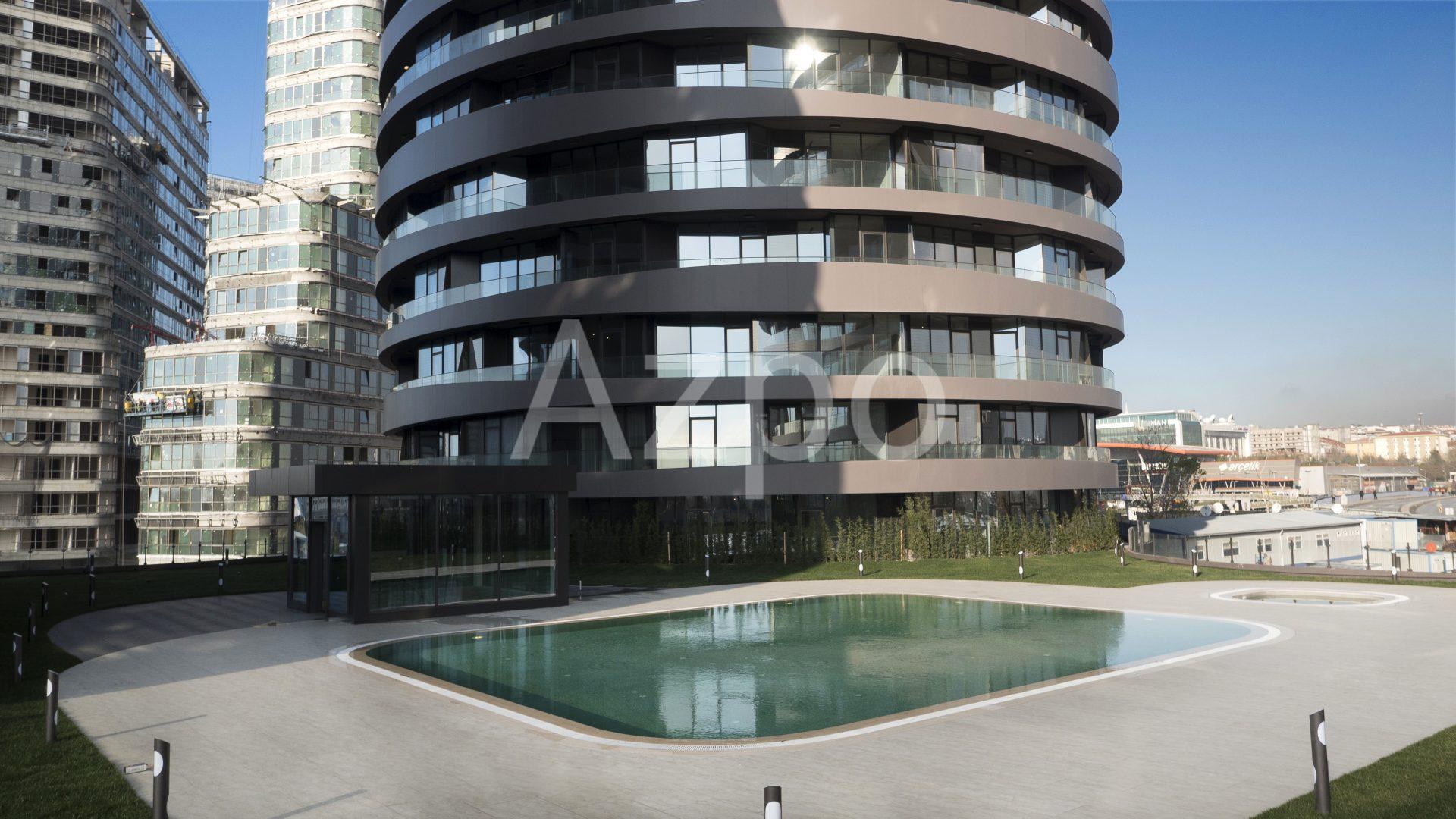 Роскошные квартиры в готовом проекте жилого комплекса в Стамбуле - Фото 13
