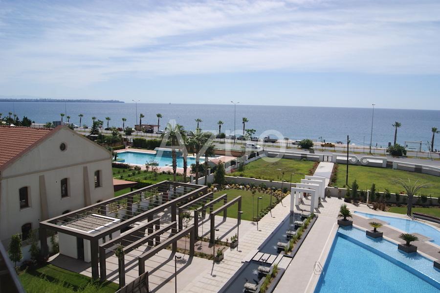 Квартиры с видом на море в элитном комплексе Антальи - Фото 25