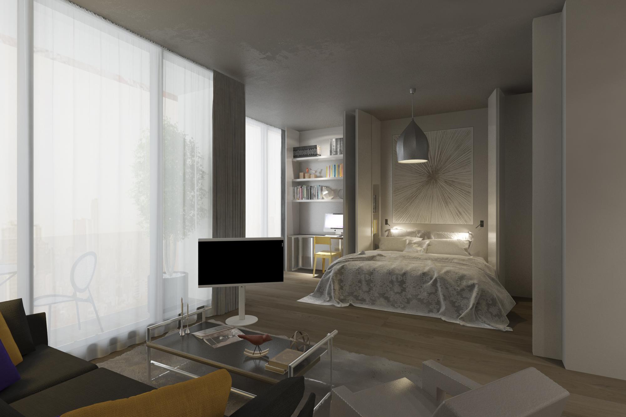 Трёхкомнатные квартиры в готовом проекте Стамбул - Фото 21