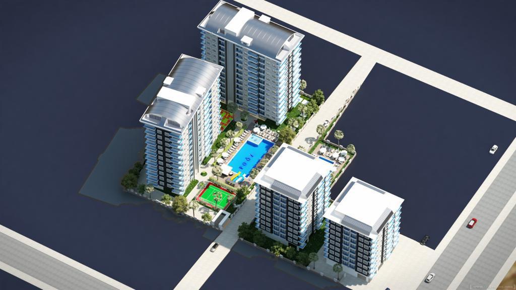 Элитные квартиры в новом проекте жилого комплекса в Махмутларе - Фото 4