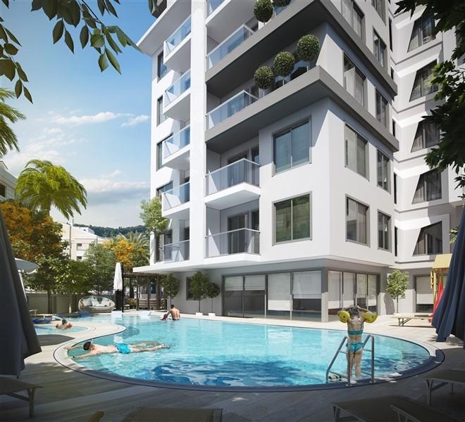 Новые квартиры в центре города Алания - Фото 8