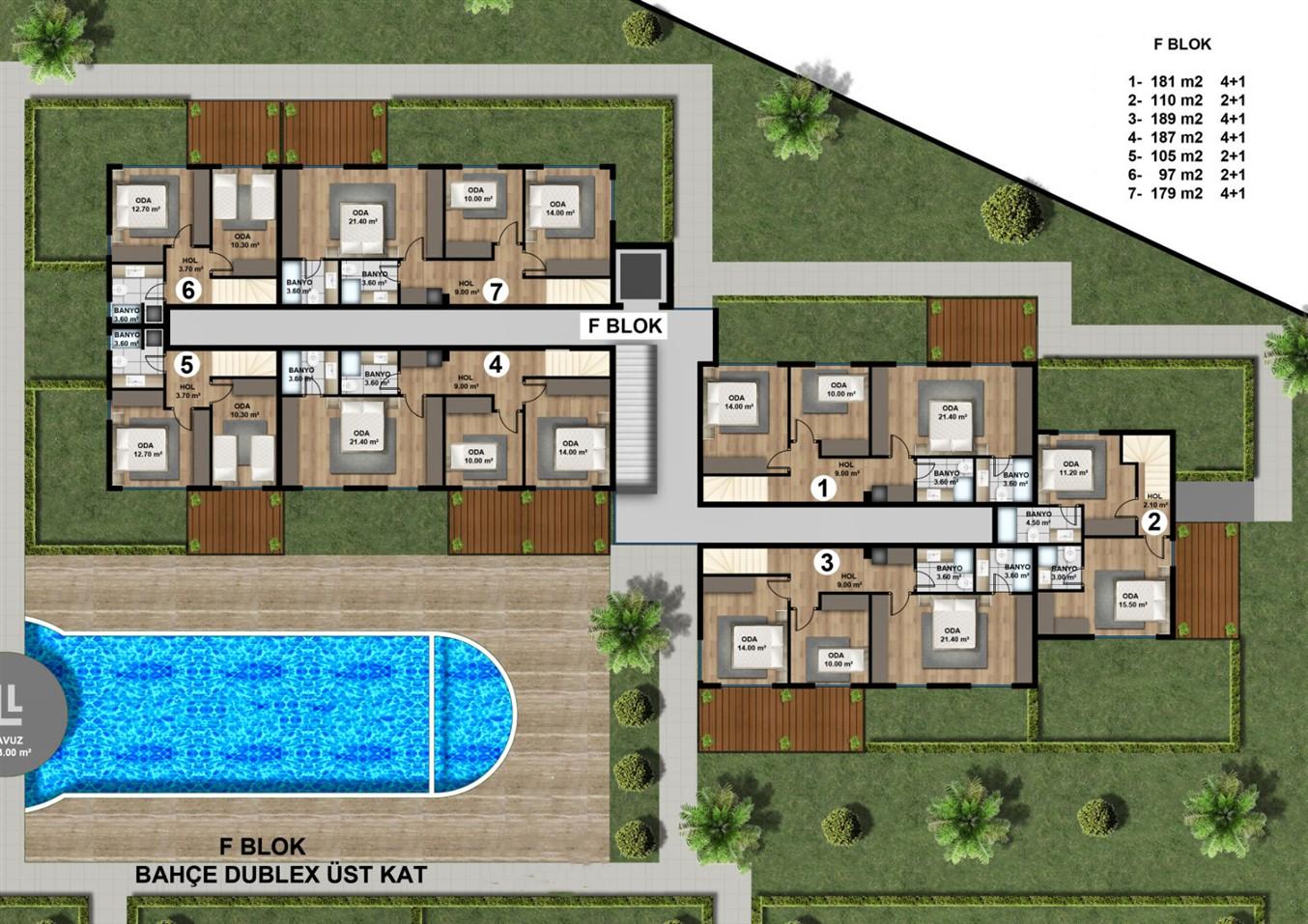 Роскошные квартиры в новом жилом комплексе с инфраструктурой - Фото 17
