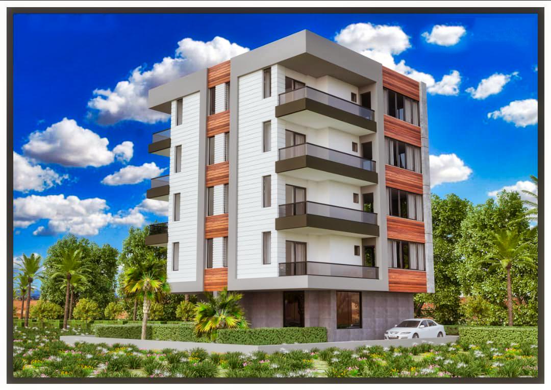 Двухкомнатные квартиры в строящемся комплексе в Анталье - Фото 1