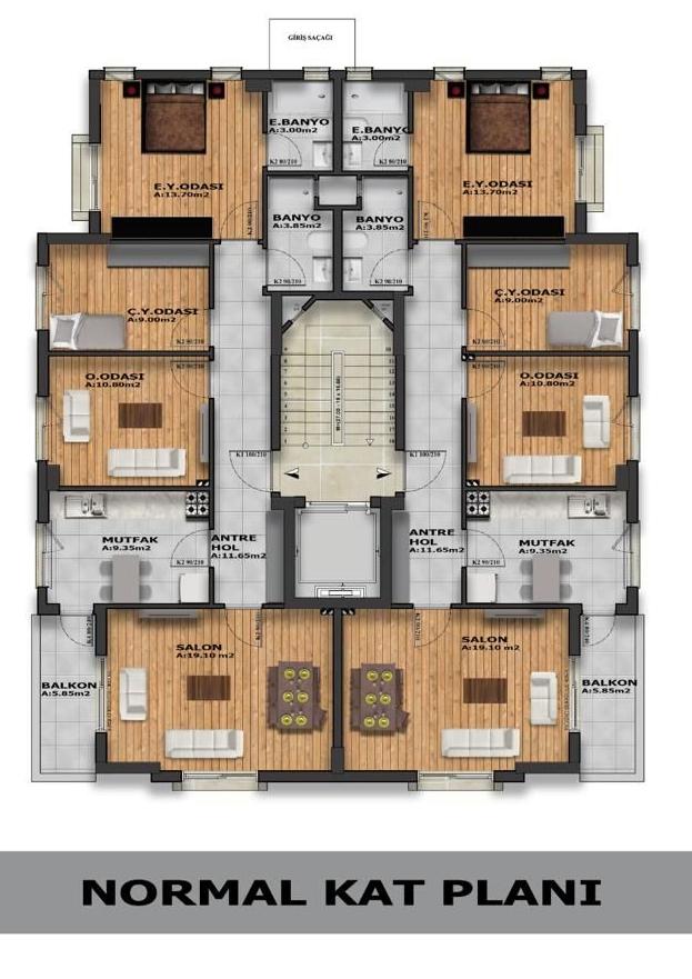 Квартиры в жилом комплексе на этапе строительства - Фото 10