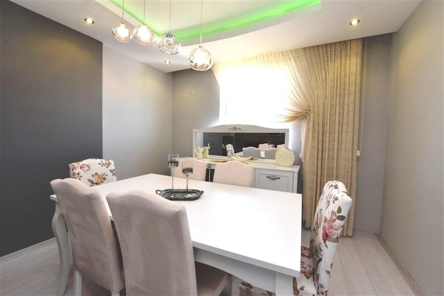 Просторный пентхаус 3+1 с мебелью в Джикджилли - Фото 19