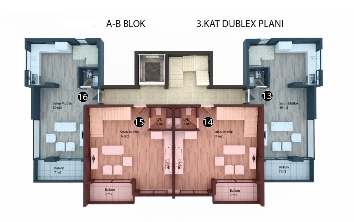 Новые квартиры в районе Кестель - Фото 26