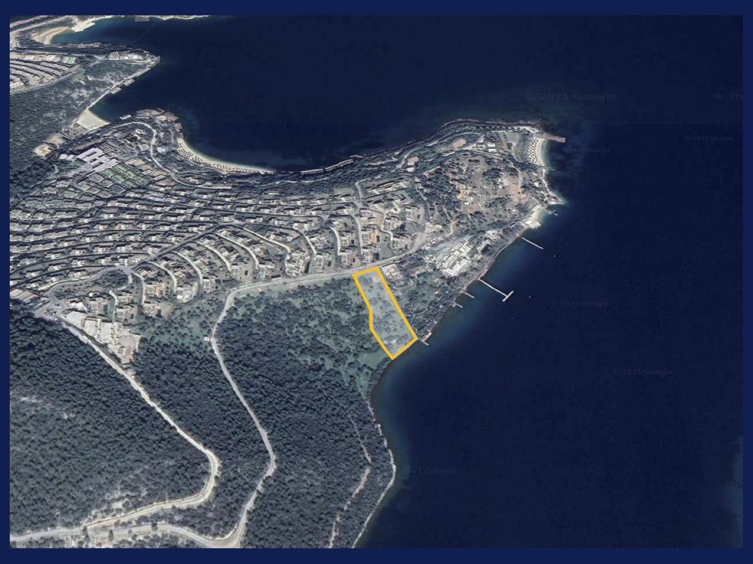 Земельный участок на берегу Эгейского моря