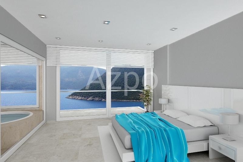 Современная вилла 5+1 у берега моря на курорте Калкан - Фото 26